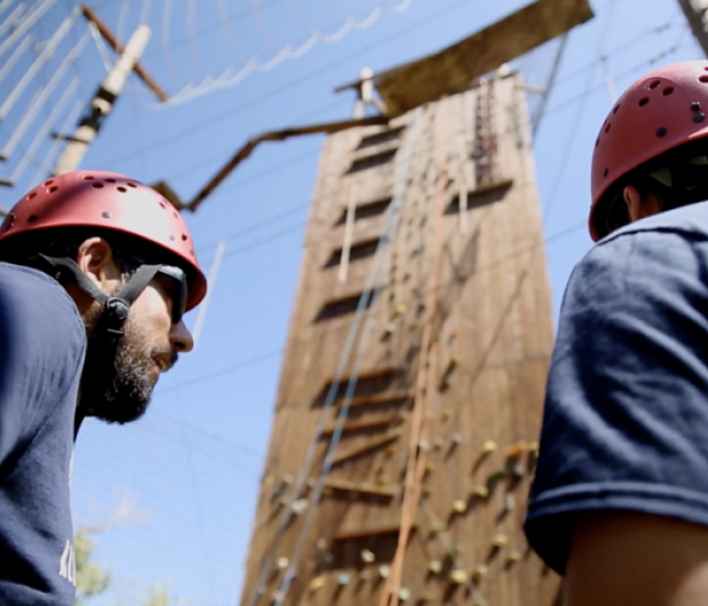 Ropes Course | Newport Healthcare